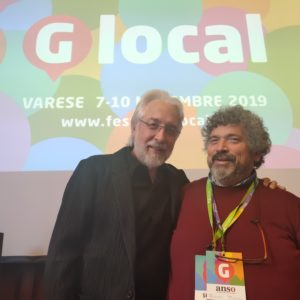 Marco Giovannelli e Richard Gingras